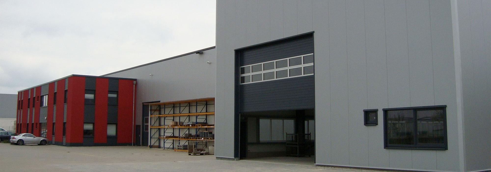 Header Gewerbeimmobilie Produktion Bauherr Aachen
